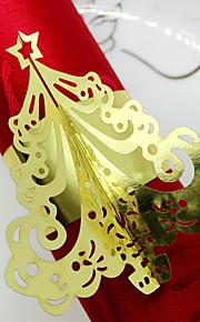 servilleteros(Oro / Amarillo / Marfil,Cartón de papel) -Personalizado