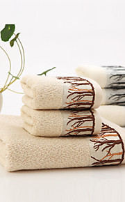 """1 Piece Bamboo Fabric Bath Towel  55"""" by 27"""" Trees Pattern Super Soft"""