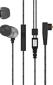 Neutral produkt iBoB212 Hovedtelefoner (I Øret)ForMedie Player/Tablet / Mobiltelefon / ComputerWithMed Mikrofon / DJ / Lydstyrke Kontrol