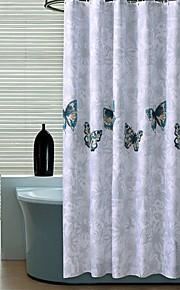 """land sommerfugl mønster badeforhæng W71 """"× L71"""""""