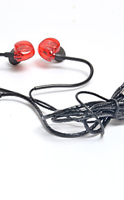 Ufeeling Ufeeling U17 Kanaal-oordopjes (in gehoorgang)ForMediaspeler/tablet / Mobiele telefoon / ComputerWithmet microfoon / DJ / Volume
