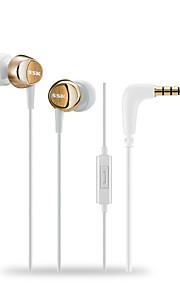 Neutral produkt SSK EP-AM13 I Øret-Hovedtelefoner (I Ørekanalen)ForMedie Player/Tablet / Mobiltelefon / ComputerWithMed Mikrofon / DJ /