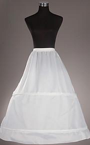 Déshabillés(Taffetas,Blanc) -Robe de soirée longue-1-91cm