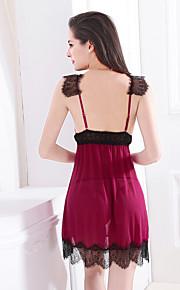 Women Lace Lingerie Nightwear,Nylon / Spandex
