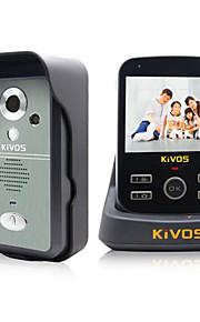 KIVOS trådløs visuelle intercom dørklokke husstand tyverisikring doorbell fjernovervågning kamera lås kdb300