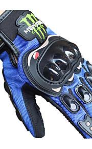 tutte le dita sul terreno guanti e guanti moto che corrono i guanti
