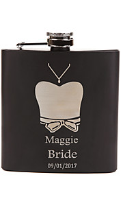 Personalized Wedding Party Gifts, Stainless Steel Engraved Wedding Flasks,Bridesmaid Gifts