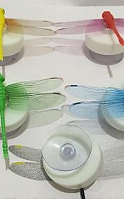 simulation dragonfly farverige nat lys med sugekop