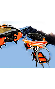 Fourteen teeth with skis hole adjustable crampons