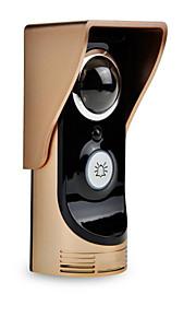 wifi trådløs video intercom dørklokke intercom doorbell mobil mobiltelefon fjernlås afsløring alarm overvågning