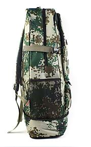 30 L mochila Acampada y Senderismo Al Aire Libre Impermeable / Multifuncional Camuflaje Lienzo