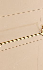 Håndklædestang / Ti-PVD / Vægmonteret /24.4*3.1*2.2 inch /Messing /Moderne /62CM 8CM 1.2
