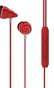 UiiSii UiiSii F108 I Øret-Hovedtelefoner (I Ørekanalen)ForMedie Player/Tablet / Mobiltelefon / ComputerWithMed Mikrofon / DJ / Lydstyrke