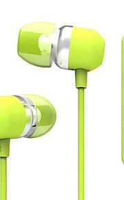 UiiSii UiiSii U3 I Øret-Hovedtelefoner (I Ørekanalen)ForMedie Player/Tablet / Mobiltelefon / ComputerWithMed Mikrofon / DJ / Lydstyrke