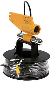 cctv 20meters sicurezza 1000tvl 12pcs LED IR pesce videocamera pesca subacquea finder