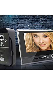 trådløse dørklokke KIVOS hjem plug to træk tre 7 tommer videokamera lås intercom