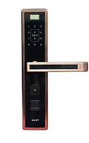 4-i-1 fingeraftryk eller adgangskode eller kort eller mekaniske taster LED display 304 rustfrit