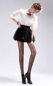 BONAS Women's Solid Color Medium Legging-B69352