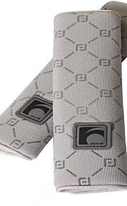 Auto Car Seat Belt Cover Plush Seat Shoulder Pad Cushion 2 Pcs One Pair
