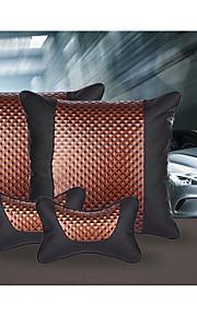 Car Decoration High-End Fashion Pillow Neck Pillow Headrest Back Cushion Waist Denim