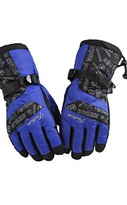 caldo inverno moda vento freddo alpinismo all'aperto guanti da sci guanti da moto di spessore
