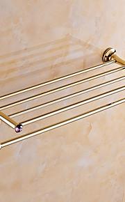 Полка для ванной / Полированная латунь / Крепление на стену /60*15*10 /Медь /Современный /60 15 1.427