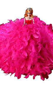 muñeca de juguete Festival de suministros / Circular / Cilíndrico Plástico Blanco / Azul / Rosa / Morado / Rose Para Niños