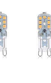 4W G9 LED à Double Broches T 14 SMD 2835 300-400LM lm Blanc Chaud / Blanc Froid Décorative / Etanches AC 100-240 / AC 110-130 V 2 pièces