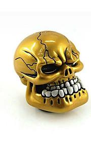 GM Modified Car Stalls Head Gear Head Automatic Personality Skull Head-Gear Teeth Ghost Manual