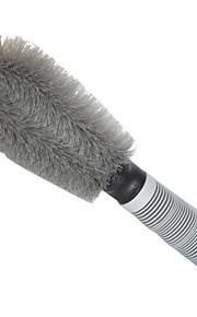 cepillo especial rueda de coche, los neumáticos de llantas fuertes cepillo de descontaminación, artículos de limpieza herramientas
