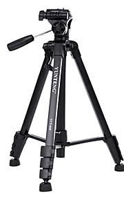 Yunteng VCT-668rm SLR kamera stativ + hoved sæt aluminium stativ
