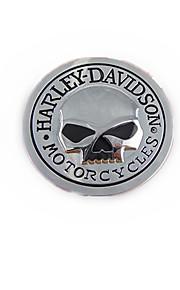 Auto cranio adesivo Harley personalità, pasta di metallo scheletro corpo ,,