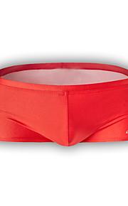 nylon / polyester de boxeur des hommes nagent courte 4 couleurs