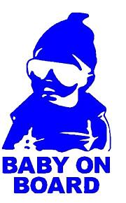 importati avvertimento personalità riflettente a bordo baby baby negli adesivi per auto