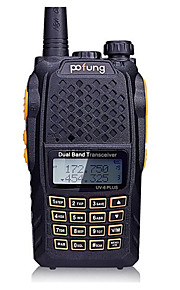 pofung UV-6puls Walkie-talkie 8W Not Mentioned 136 - 174 MHz / 400-520MHz Not Mentioned 3 Km - 5 Km Funzione di risparmio energeticoNot