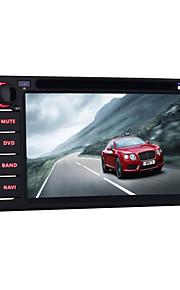 quad core 6.2 inch universele 2 din android 5.1 Auto DVD GPS navigatie voor toyota met bluetooth wifi radio spiegel koppeling