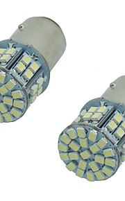 2pcs super brillante 1157 1156ba15s 5w 50smd 1206 3020 Dc12v encender las luces de freno de la lámpara de señalización LED bombilla de