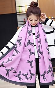 Damen Party / Freizeit Baumwolle / Wollmischung Schal