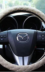 auto stuurwiel dekglas motion stereo microfiber lederen handvat mouwen