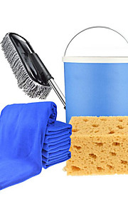 automotive levert het schoonmaken kit car wash wax aanhangwagens telescoopsteel vouwen bucket