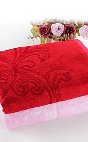 "1 PC Bamboo Fiber  Bath Towel 27"" by 55"" Super Soft Floral Pattern"