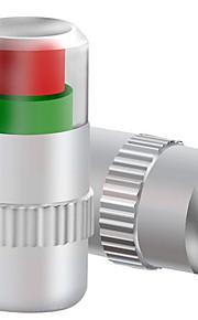 005 controle van de bandenspanning ventieldopje, metaal bandenspanning proefkraan mond, bandenspanningsmeter (4 stuks)