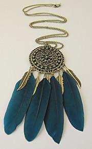 Bijoux Colliers décoratifs / Boucles d'oreille Collier / Boucles d'oreilles A la Mode / Bohemia style Mariage / Soirée 1set FemmeNoir /