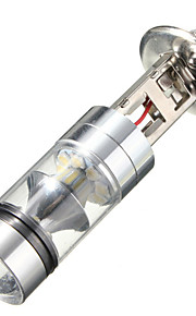 2 stuks 100w h7 / h1 20 smd auto mistlamp 12V ~ 24v 360degree wit interieur verlichting sourcing-parking Lampochka bombillas