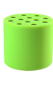 Mini silica gel Mini Bluetooth Car Speaker, wireless Bluetooth audio, FM audio output OEM, Card Can Be Inserted