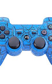 trådløs Dual Shock seks akse bluetooth controller til Sony PS3 (flerfarvet)