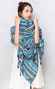 Damen Freizeit Baumwolle / Wollmischung Schal