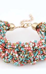 Chaînes & Bracelets / Charmes pour Bracelets / Bracelets de rive 1pc,Couche double / A la Mode / Vintage / Bohemia style / Adorable /