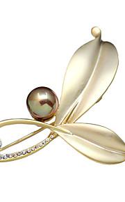 damesmode imitatie parel kristal strass sieraden party / dag / casual broches pins