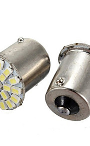 10st 1156 22smd LEDs 1206 smd richtingaanwijzer omgekeerde lichte auto led lamp (12V)